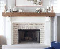 20 Fresh New Shiplap Over Brick Fireplace Orielyparccafe Com Fireplace Remodel White Wash Brick Family Room Design