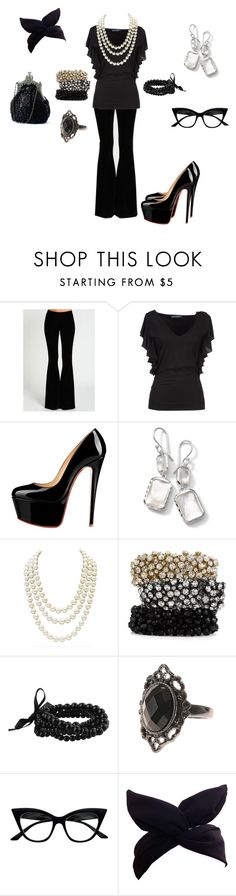 """""""Corporate Goth"""" by toxxic-venom on Polyvore featuring Ralph Lauren, Ippolita, Chanel, Tasha, Forever 21 and Retrò"""
