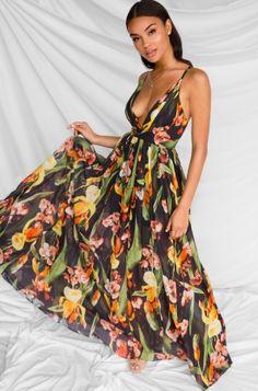 220a3be75f Print Sexy Straps Long Honeymoon Dress Item NO  IM 8212-9 Honeymoon Dress