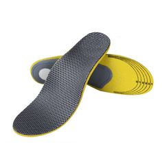 Friendly Unisex Silicone Shoe Insoles Free Size Men Women Orthotic Arch Support Sport Shoe Pad Soft Running Insert Cushion Sweat Soccer Large Assortment Novelty & Special Use