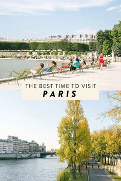 Figuring out the best time to visit Paris is a matter of personal opinion because Paris is always a good idea!Each month and season brings something different — here's a guide breaking it down