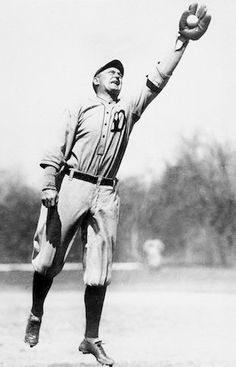 Ty Cobb! He's my cousin! And I'm being totally serious! My mom Joyce, her father was Ty Cobb, and it was his cousin!! How cool is that!