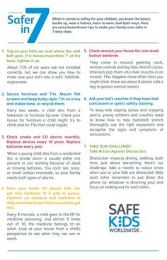 7 Lesser-Known Safety Tips for Kids. For more #parenting tips go to www.youparent.com #YOUparent