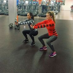 """2,339 Likes, 103 Comments - @bradleysimmonds on Instagram: """"#mondaymotivation  Kettle bell workout   @talillahenchoz And @jaimiebeth   12 - Two kettle front…"""""""