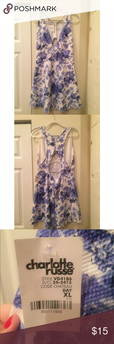 Charlotte Russe Dress New with tags, never worn Charlotte Russe dress. Size XL. Charlotte Russe Dresses