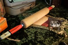 Vintage rolling pin. Do you have any kitchenalia that has been passed down through the generations?