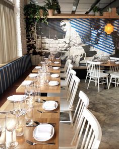 New York City: Trendy Restaurants — Ariana Katsigiannis Nyc Restaurants, New York City, Fashion Beauty, Table Settings, Lifestyle, Table Top Decorations, Nyc, Place Settings, New York
