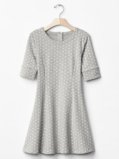 Polka dot panel dress Product Image