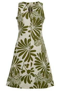 Essaye Japanese Floral Tunic Dress - Womens Knee Length Dresses at Birdsnest Fashion