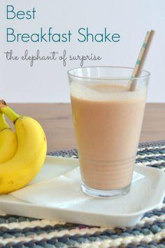 Best Breakfast Shake