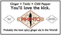 Also called a spicy ginger beer! Ginger Beer, Non Alcoholic, Tequila, Spicy, Van, Stuffed Peppers, Vodka, Beer, Alcohol Free