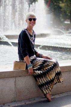 Street Style Spring 2013 - Milan Fashion Week Street Style