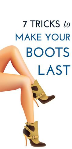 How to make your boots last through winter