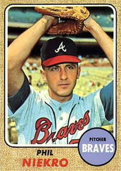 31 Best 1968 Topps Atlanta Braves Images In 2012 Atlanta Braves