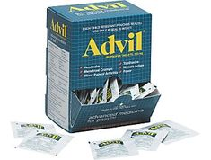 Staples sells a box of 2 pack Advil for $20. Good for OOT bags!