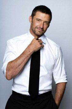 Hugh Jackman-Cute and funny!!! A great combination!!!