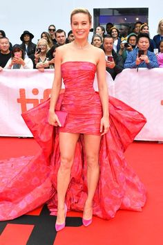 Jessica Biel, Jamie Foxx, Brie Larson and more big names are bringing Hollywood up north Brie Larson, Sacramento, Toronto Film Festival, Rachel Brosnahan, Jessica Biel, Red Carpet Looks, Hollywood Actresses, Strapless Dress Formal, Celebs
