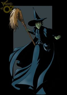 the wicked witch of the west from the wizard of oz, by http://nightwing1975.deviantart.com/