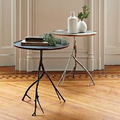 Branch Side Table - Bronze #westelm
