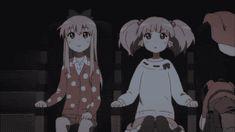 yuri yuri. lol XD<<I need to watch this series now, it looks adorable