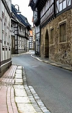 Fachwerk houses on pinterest germany lower saxony and for Design hotel goslar