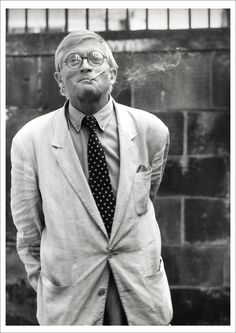 Main picture of Portrait of David Hockney, a fun guy David Hockney Photography, Art Photography, Preppy Men, Ladies Gents, Advanced Style, Andy Warhol, Famous Artists, Art Gallery, Black And White