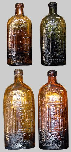 Antique Bottles - Collections Old Medicine Bottles, Antique Glass Bottles, Antique Glassware, Bottles And Jars, Perfume Bottles, Mason Jars, Vintage Bottles, Vintage Perfume, Jar Art