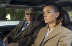 Passenger - Season 10, #11.  Ziva (Cote de Pablo, right) is taken aback by the sudden emotional visit by her father, (Michael Nouri, left) who she hasn't seen in more than two years. While Ziva questions the purpose of her father's visit as the Director of Mossad, her father insists he is in the U.S. strictly to see his daughter for Shabbat dinner. Photo: Monty Brinton/CBS ©2012 CBS Broadcasting, Inc. All Rights Reserved.