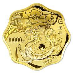 2012 China Gold Dragon coin