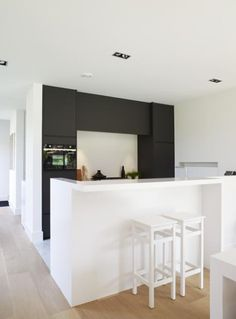 kitchen example of darker color on back wall