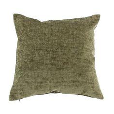 Forest Chenille Cushion | Dunelm Mill