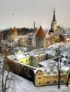 Christmas in Ancient,  Tallinn, Estonia.
