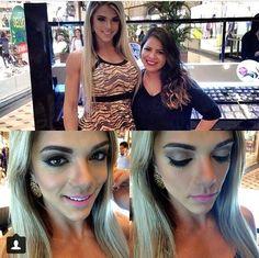 o Beauty Team da NYX do Manauara Shopping recebeu a modelo fitness @robertarzuniga e essa foi a maquiagem que a consultora @rayssajardimakeup fez nela