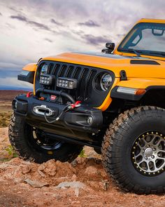 @jeep (Instagram) The Nacho Jeep® concept boasts a slew of the best Jeep® Performance Parts available for the all-new Wrangler.