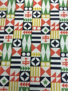 Up and Away Balloon Stripe Navy Blue Michael Miller Fabric FQ More100/% Cotton