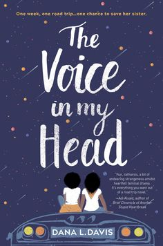 The Voice in My Head - She can feel sorry for herself. Or she can listen…to the voice in her head. For Indigo Phillips, life has always been about basking in the shadow of her identical twin, Violet—the perfectly dressed, gentle, popular sister. Book Cover Art, Book Cover Design, Cover Books, Ya Books, Books To Read, Books By Black Authors, Ya Novels, Conte, Book Publishing