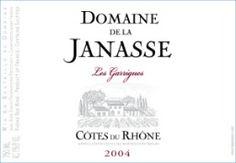 2010 Domaine de la Janasse Cotes du Rhone Les Garrigues