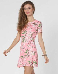 Vestido Kanui Clothing   Co. Floral Dark Roupas Femininas Vestidos 657df825c8c86