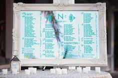 Morada Bay Beach Wedding from L'Atelier Rouge + Adagion Seating Chart Wedding, Seating Charts, Brunch Wedding, Wedding Reception, Event Planning, Wedding Planning, Florida Keys Wedding, Aqua Wedding, Wedding Colors
