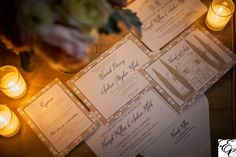 Navy and Gold Wedding | Custom Stationary | Wedding Invitations | Dodeline Design
