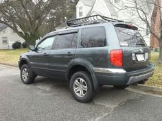 2005 Honda Pilot Exl. Lifted. Roof Basket. Tow Package. 1st Generation.