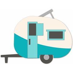 vintage camper clip art retro camper clipart retro campers rh pinterest com rv clip art free downloads