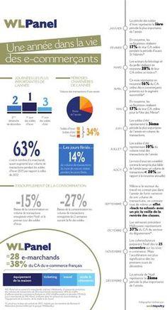 Infographie - un an dans le e-commerce