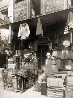 Luggage Store, rue Dupetit Thouars, 1910-1911