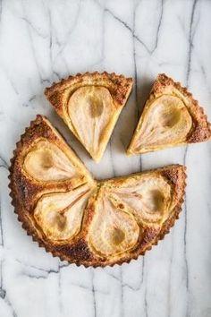 Pear Almond Tart | Kristin Rosenau by bridgett