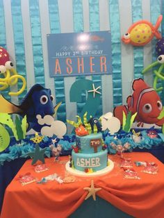 Asher's Under the sea Bash | CatchMyParty.com