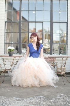 PROM Full Length BALLROOM Tulle Skirt by KalliAlbaBridal on Etsy