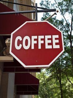 GRAPHIC DESIGN – BRANDING – coffee stop inspiring branding scheme.