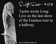 That is true.she had a tune in here head and The only way to get it out is to write a song