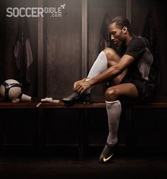 Don't you dare make me care about soccer, Drogba!